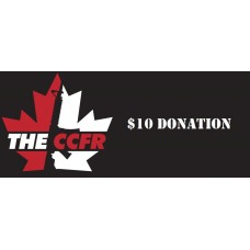 $10 Donation to the CCFR Lega..