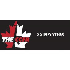 $5 Donation to the CCFR Legal..