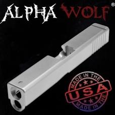 Lone Wolf, AlphaWolf, Stripped Slide, 9mm, fits G19, Gen4